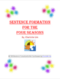 Sentence Formation for the Four Seasons