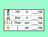 Basic Sentence Formulation