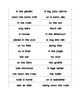 Sentence Fragment Alert Center