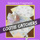 Sentence Fragment Cootie Catchers