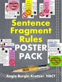 Sentence Fragment Rules Poster Pack