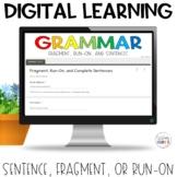 Sentence Fragment Run-on Self-Grading Quiz | Google | Dist
