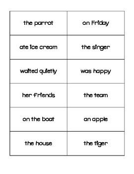 Sentence Fragment Station