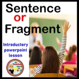 Sentence or Fragment? Instructional Game