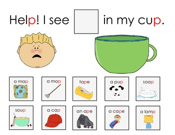 Sentence Frame Activity to Target Final Consonant Deletion- Freebie!