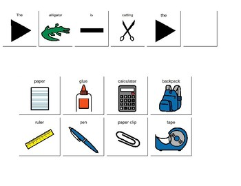 Verb +ing Sentence Frame Bundle Pack!