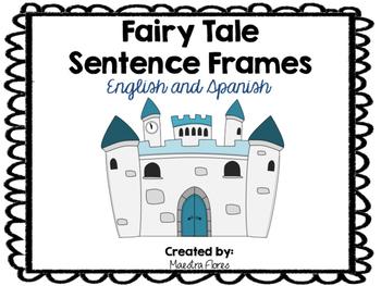 Sentence Frames Fairy Tale