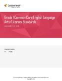 Sentence Frames, Vocabulary, and More for 1st Grade ELA La