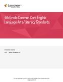Sentence Frames, Vocab, & More for 4th ELA Reading: Inform