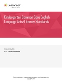 Sentence Frames, Vocab, & More for K ELA Reading: Foundati