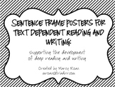 Sentence Frames for CCSS Anchor Standards