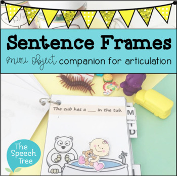 Sentence Frames for Speech Therapy Articulation