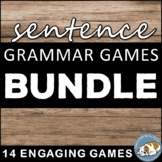 Sentence Grammar Games Bundle