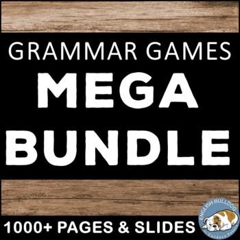 Sentence Grammar Games MEGA Bundle