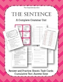 Grammar: Kinds of Sentences, Subjects/Predicates, Punctuat