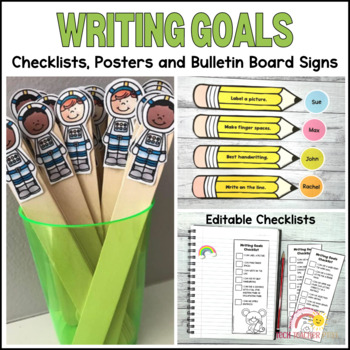 Sentence Helpers Pack Writing Goals, Anchor Charts, Check Lists and Awards