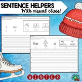 Winter Sentence Writing