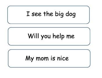 Sentence Identification