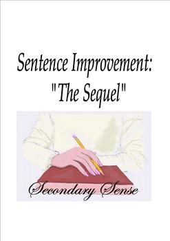 "Sentence Improvement:  ""The Sequel"" Worksheets"