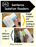 Sentence Isolation Readers: A Tactile Approach for Trackin