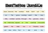 Sentence Jumble
