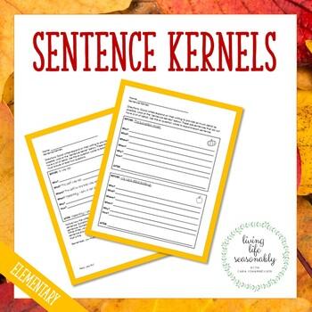 Sentence Kernels Packet
