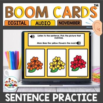 Sentence Listen and Match Activities