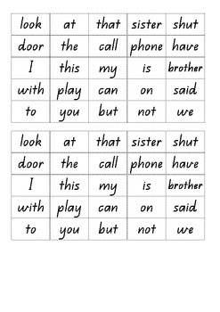Sentence Making Tiles