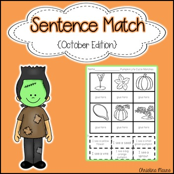 Sentence Match {October Edition}