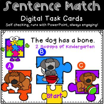 Sentence Match Power Point Game