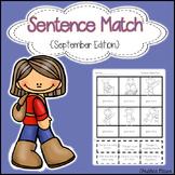 Sentence Match {September Edition}