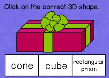 3D Shapes Boom Cards