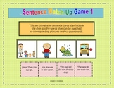 Sentence Match-Up Game 1 (First 100 Fry words)