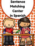 Sentence Matching Center in Spanish (Centros de emparejar oraciones con fotos)