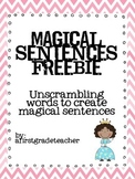 Sentence Mechanics FREEBIE!