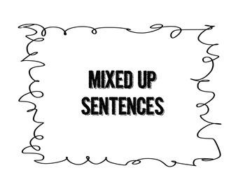Sentence Mix Up