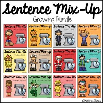 Sentence Mix Up {Bundle}