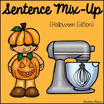 Sentence Mix Up - Halloween