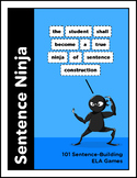 Sentence Ninja: 150 Language-Building Games