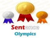 Sentence Olympics : A Fun Writing PowerPoint Acitivity