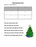 Sentence Order- Christmas Tree