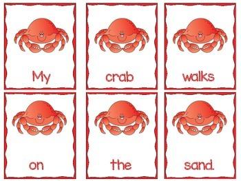 Sentence Order -- Ocean Creature Freebie