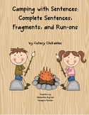 Sentence Pack Common Core Aligned Sentences, Fragments, and Run-on Sentences