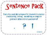 Sentence Pack
