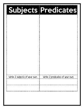 Sentence Packet