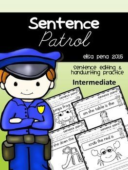 Sentence Patrol: Mixed Sentences