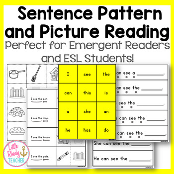 sentence pattern and picture reading for esl and emergent. Black Bedroom Furniture Sets. Home Design Ideas