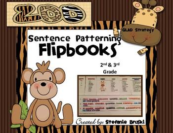 Sentence Patterning Flipbooks Zoo Animal Theme