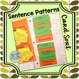 Sentence Patterns Card Sort