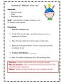 Sentence, Phrase, and Run-on Sentence Sort!